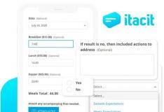iTacit Employee App集成了表格和工作流程