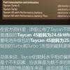 汽车知识科普:保时捷Taycan电耗多少