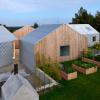 五栋建筑围绕着一个庭院形成了由JarmundVigsnæs打造的丹麦避暑别墅