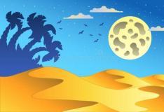 扎哈哈迪德为废物管理公司展示了沙漠总部的动画