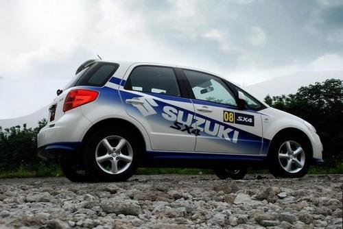 天语SX4锐骑奥运版限量2008台 明日开卖